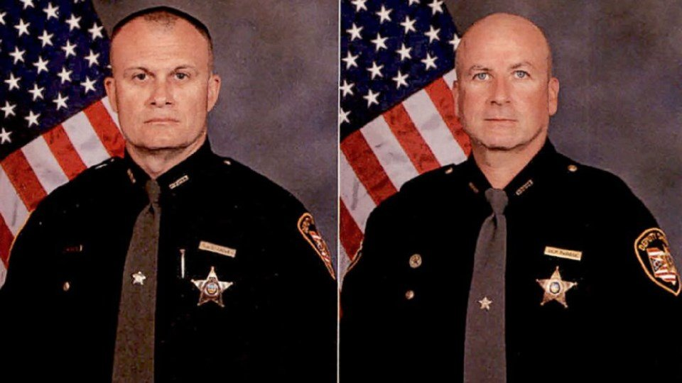 Detective Bill Brewer (left) and Lt. Nick De Rose