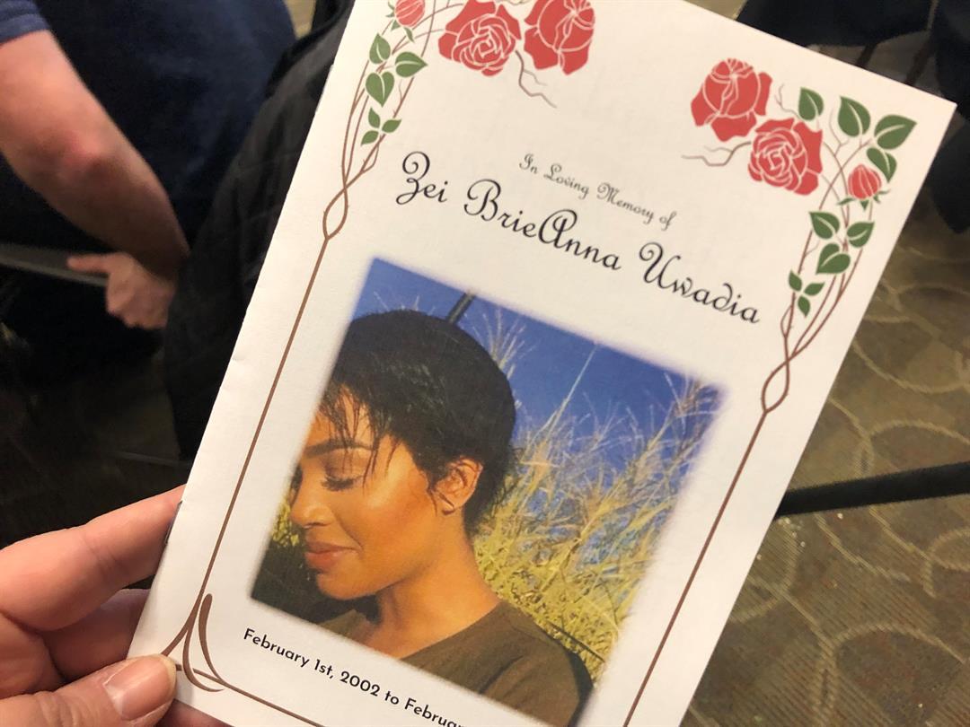 Sunday, February 24, 2019, was the Celebration of Life for Zei Uwadia.