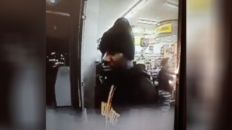 Suspect at 1918 E. 13th Street Dollar General