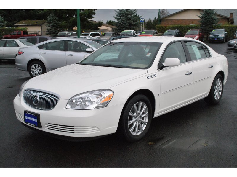 Stock photo of white 2009 Buick Lucerne
