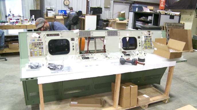 Cosmosphere team restoring NASA control room consoles for Apollo 11 anniversary
