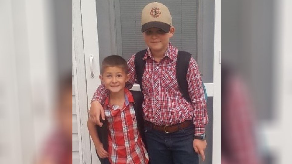 photo of Owen and Elliott Cannon (Cannon family GoFundMe page)
