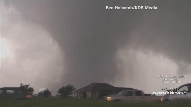 2 million people at 'high' risk for catastrophic tornadoes in parts of Oklahoma, Texas