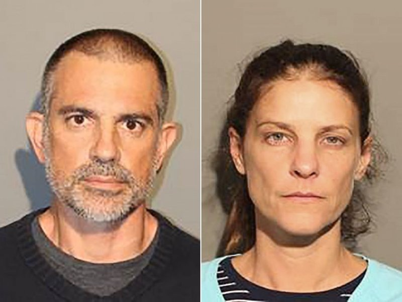 Fotis Dulos and Michelle Troconis  (New Canaan Police Department)