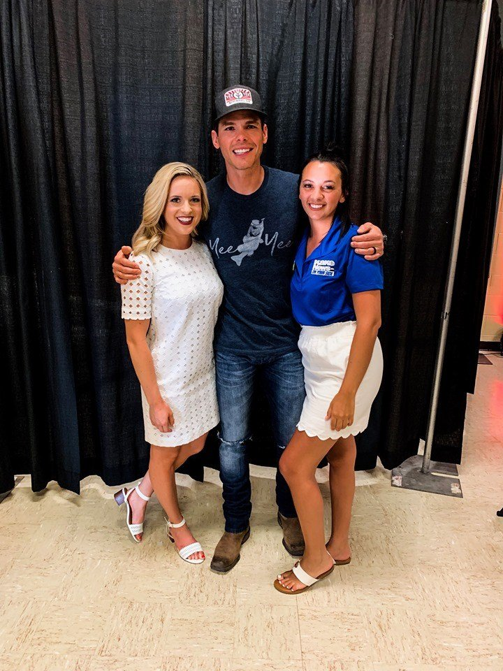 Granger Smith visited with KAKE's Morgan Mobley and Brianne Smith when he stopped in Wichita for Riverfest on Sunday, June 3, 2019.