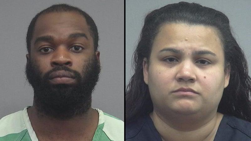 Samuel and Brandi Hollie (Alchua County Jail)