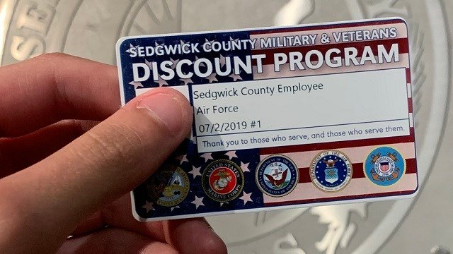 New discount card for Sedgwick County veterans, military