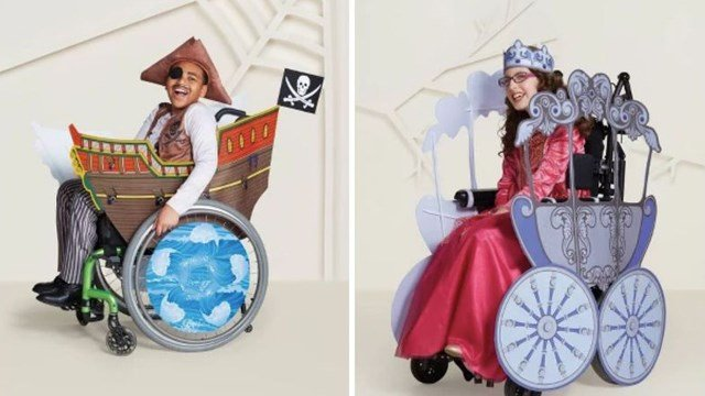 Target unveils Halloween costumes for kids who use wheelchairs