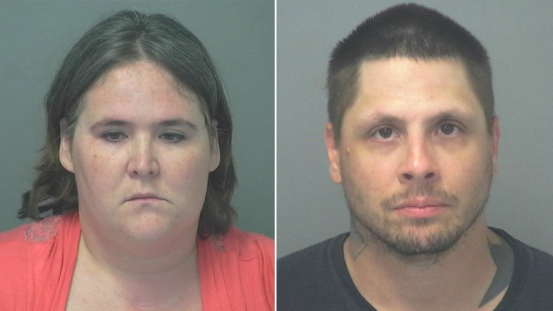 Stephanie Cloud and Anthony Rylas (Cowley Co. Jail)