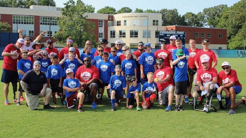 Courtesy: Anastasia Meenach of Wounded Warrior Amputee Softball Team