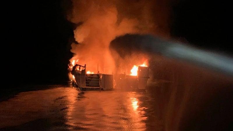 (Ventura County Fire Department via AP)