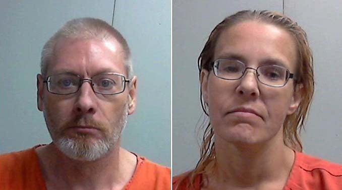 Raymond Burks (left) and Jennifer Reed