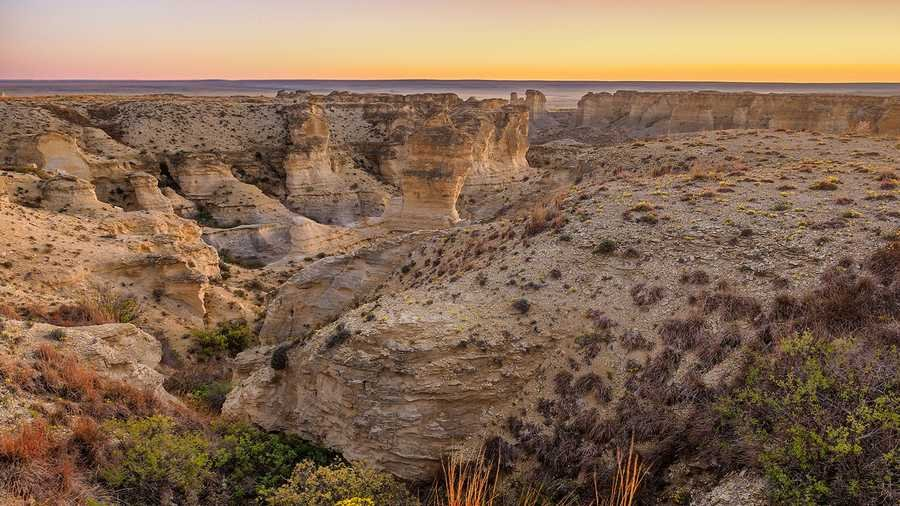 Little Jerusalem Badlands State Park opens in Kansas next month