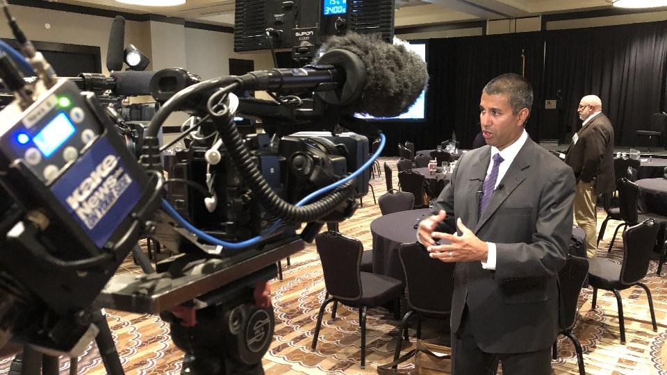 FCC Chairman Ajit Pai talks rural broadband at Wichita conference