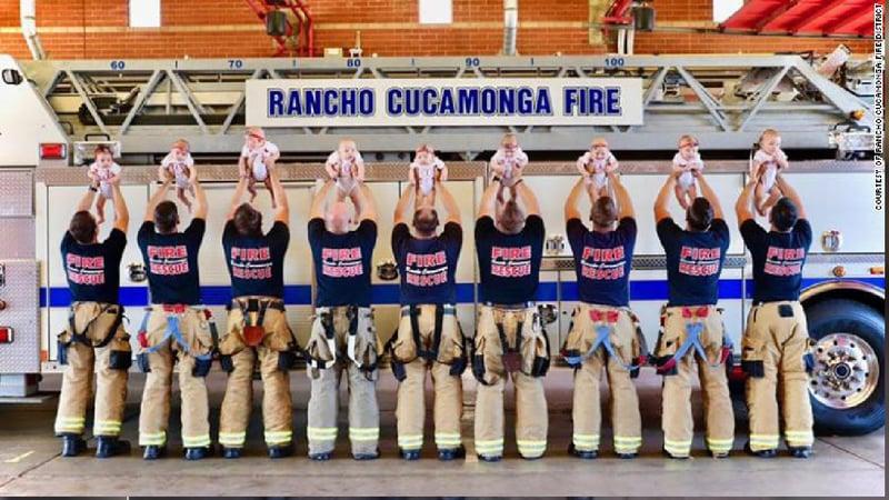 Photos Courtesy: Rancho Cucamonga Fire District