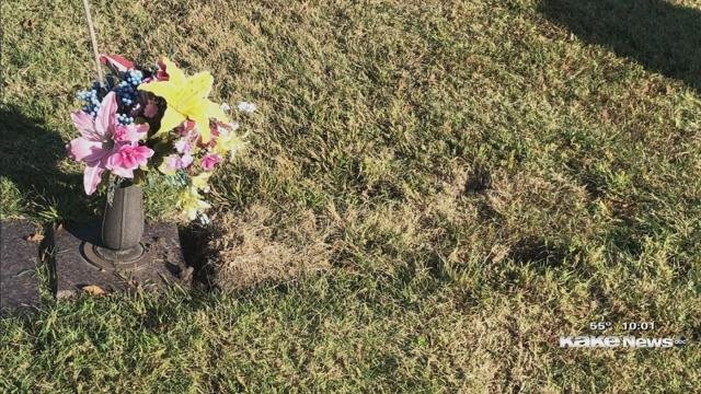 Up and vanished: gravestone mystery Wichita woman hopes is solved