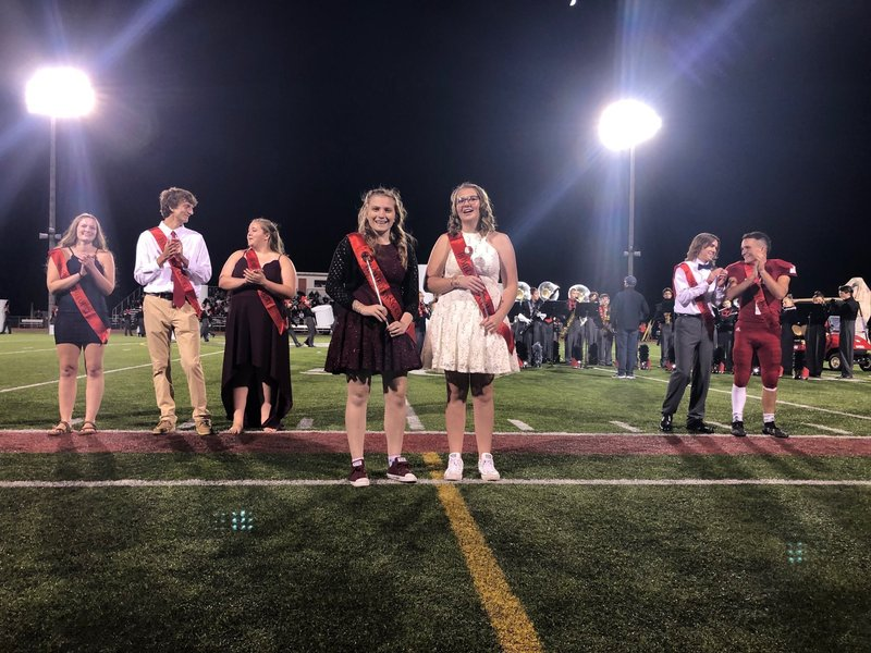"Milford High School crowned their ""Homecoming Royalty,"" a gender neutral term the school has… Milford High School 09 Oct 19"