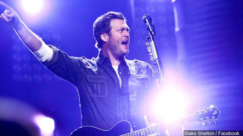 "Blake Shelton bringing ""Friends and Heroes"" tour to Wichita"