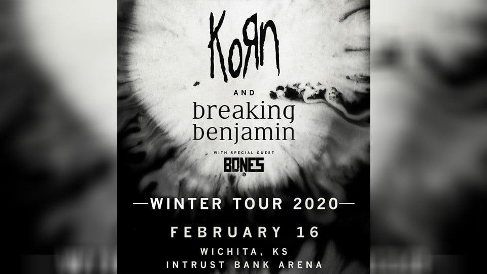 Korn and Breaking Benjamin winter tour is coming to Wichita