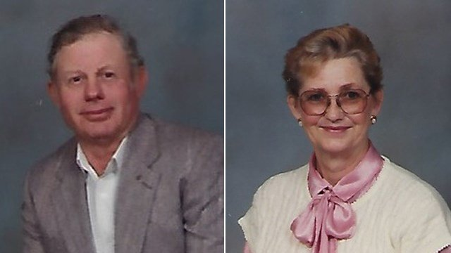 Undated photos of Jim and Reta Dale courtesy of Garnand Funeral Homes