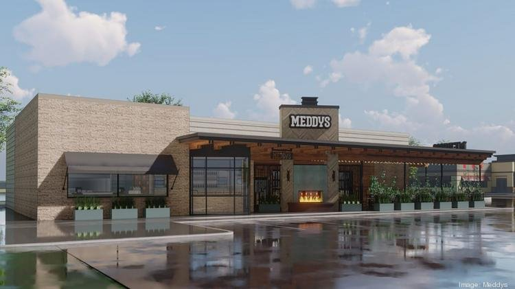 Concept renderings show the future west-side Meddys under construction near Ridge Road and Taft. COURTESY ART