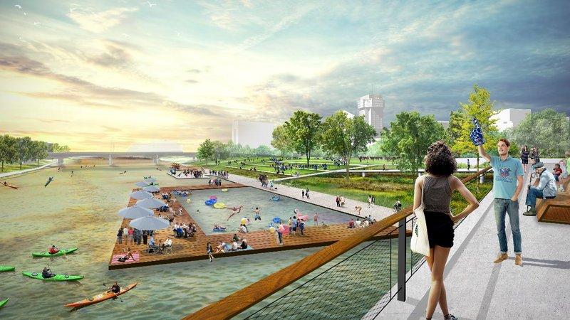 Courtesy: Riverfront Legacy Master Plan coalition partners