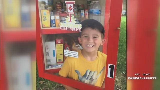 Paxton's Blessing Box in need of donations