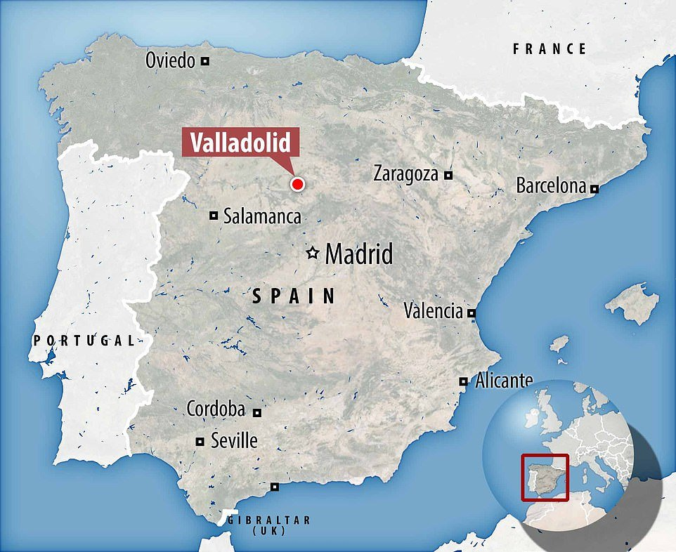 Skeleton found in ruined Spanish chapel could be that of nobleman