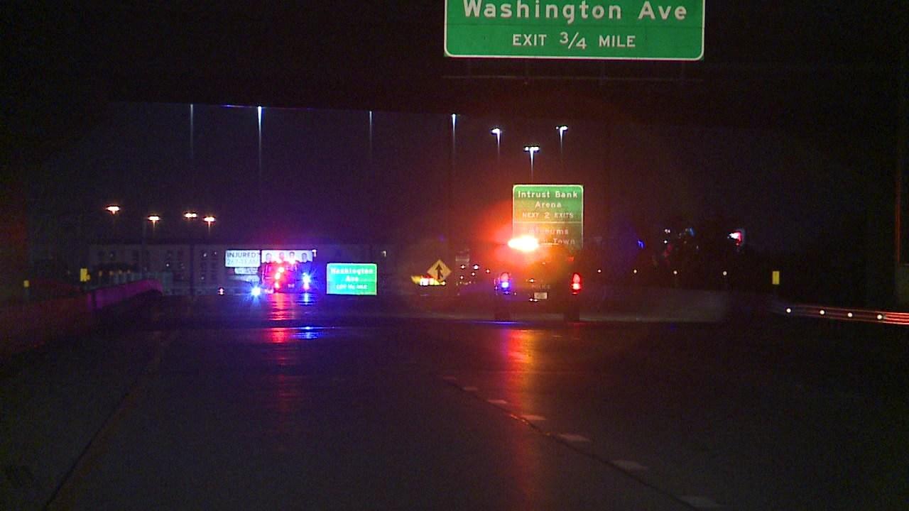 1 killed, 4 hurt in rollover crash on Kellogg in Wichita