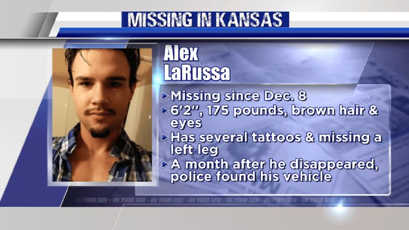 MISSING IN KANSAS: Search for Alex LaRussa - KTEN com