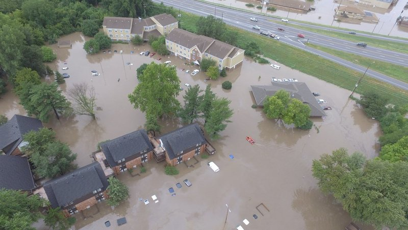 Governor issues disaster declaration for Kansas flooding