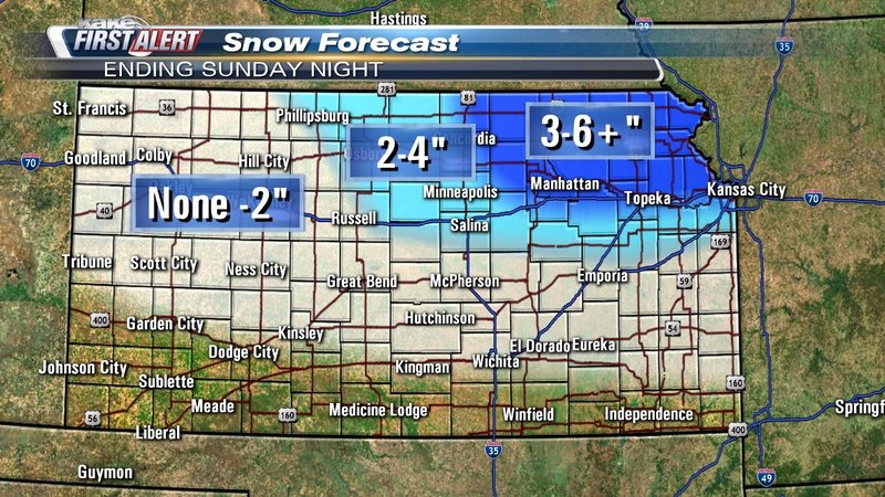 Sunday snow could snarl travel