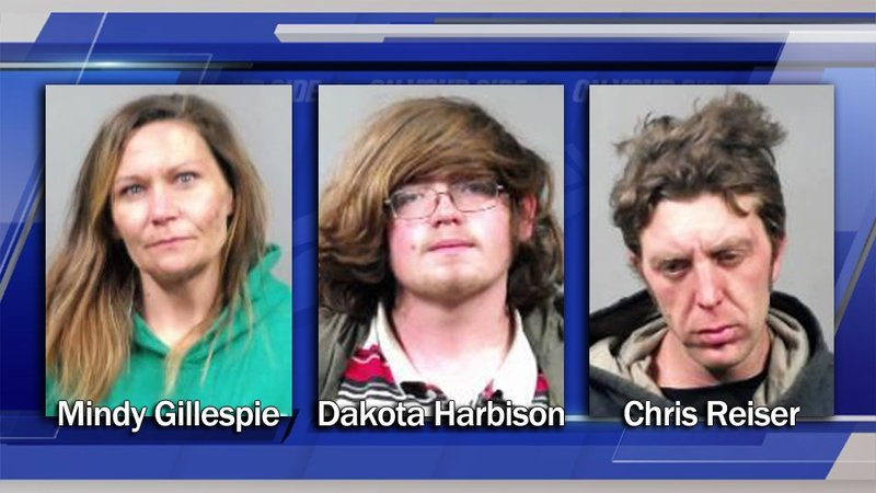 Police arrest 3 for copper theft in downtown Wichita