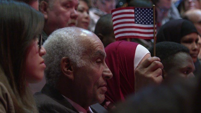 New Americans take oath of allegiance