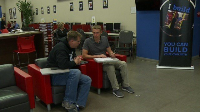 Local teens interview for manufacturing jobs