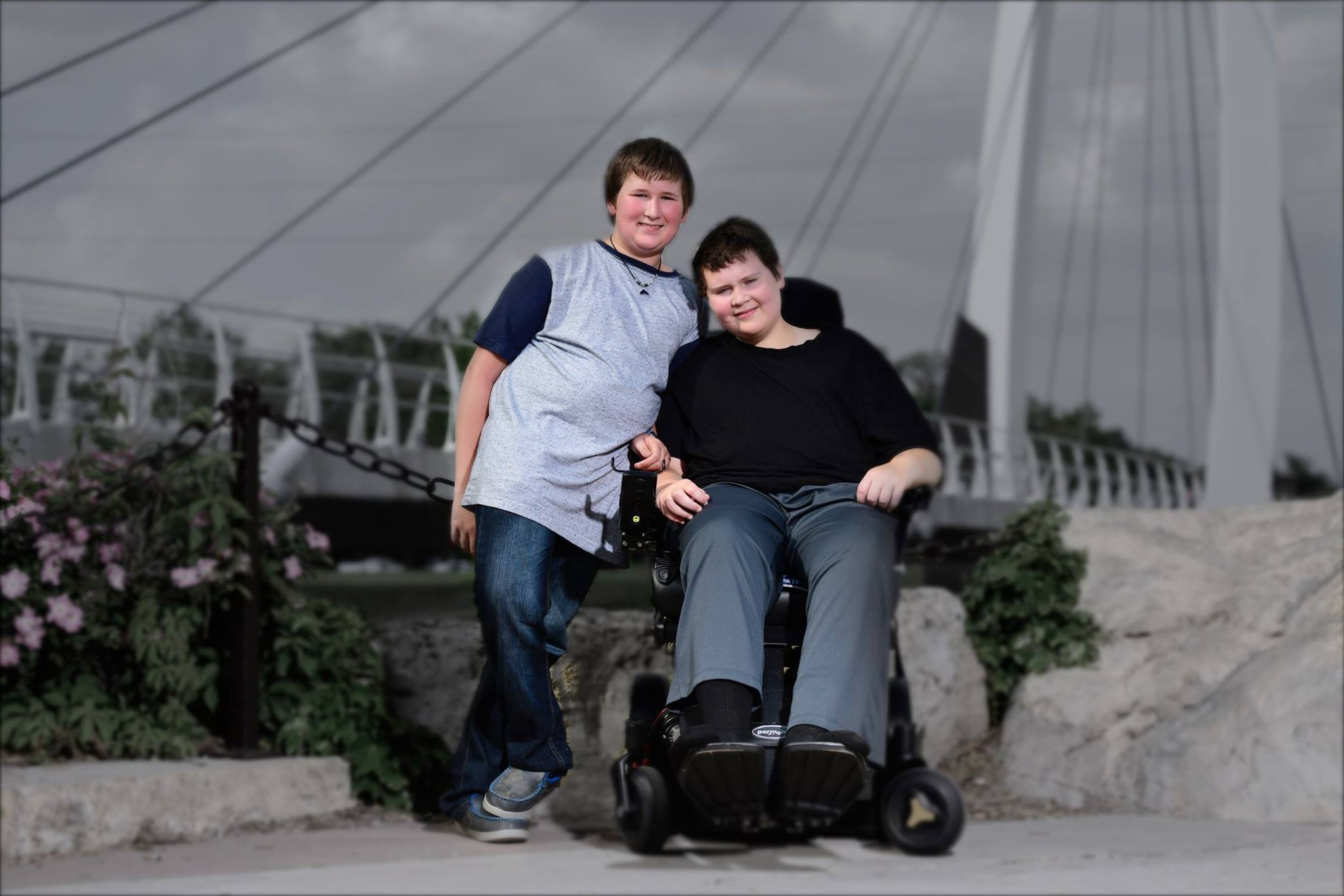 Wichita mom raising money for sons in need, Wichita's Littlest H