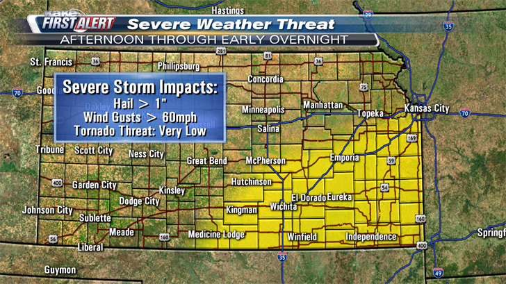 More severe storms and heavy rain possible