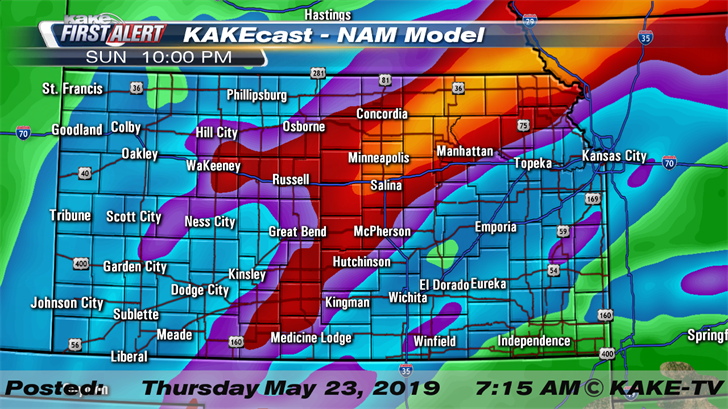 More severe weather and flooding likely