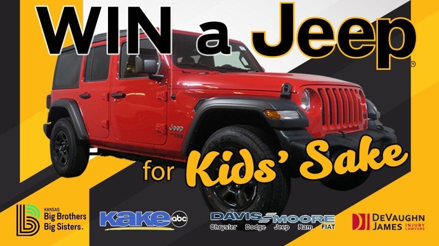 Win a Jeep for Kids' Sake