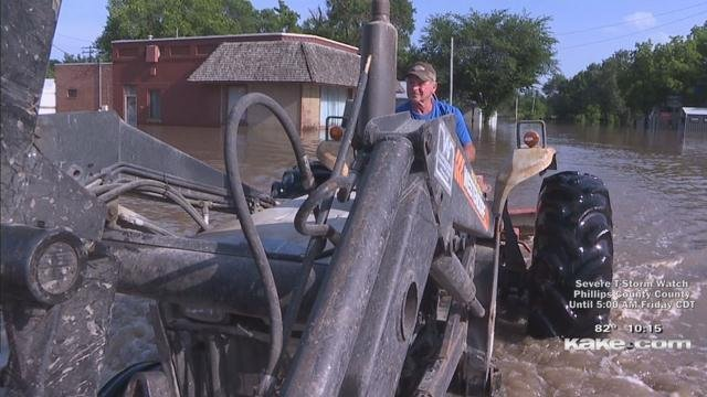 Flooding forces evacuations in Marion County - KTEN com