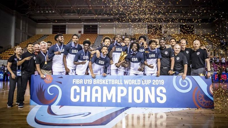 finest selection e6dfb 2ac85 Bruce Weber, Southwell lead Team USA to Gold at U19 World Cup