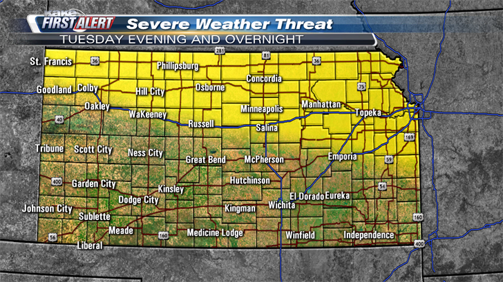 Another scorcher with severe storms possible - KTEN com