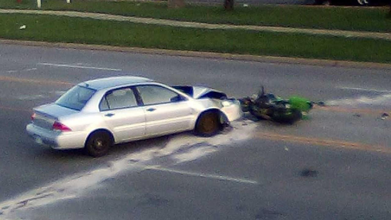 Wichita police: Man killed in motorcycle crash was speeding